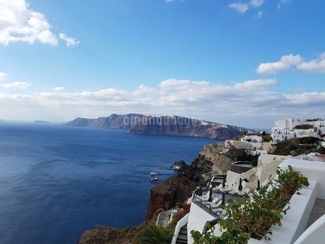 サントリーニ島 イアの風景 santorini oiaの写真素材 [FYI01261593]
