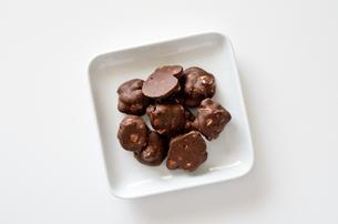 ピーナッツチョコの写真素材 [FYI01261598]
