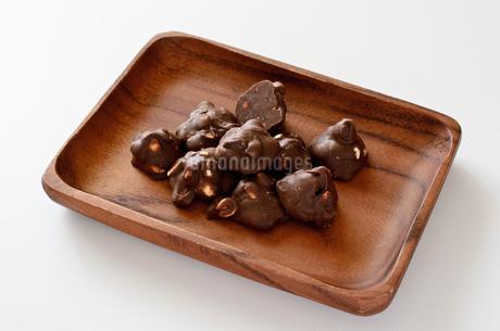 ピーナッツチョコの写真素材 [FYI01261601]