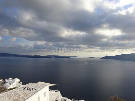 サントリーニ島 イアの風景 santorini oiaの写真素材 [FYI01261605]