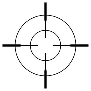 ターゲットのイラスト素材 [FYI01261621]