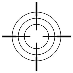 ターゲットのイラスト素材 [FYI01261623]