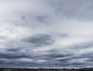 雲の空の写真素材 [FYI01261707]
