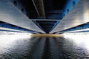 みなとみらい大通り橋の下の写真素材 [FYI01261860]