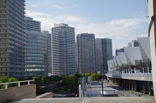 みなとみらい高層ビル群の写真素材 [FYI01261866]