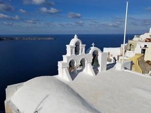 サントリーニ島 イアの風景 santorini oiaの写真素材 [FYI01261879]