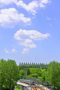 杜の都 仙台 西公園より新緑を愛でるの写真素材 [FYI01261997]