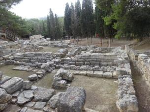 クレタ島 クノッソス宮殿 crete heraklionの写真素材 [FYI01262049]