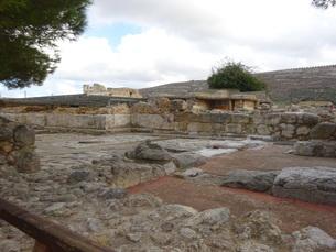クレタ島 クノッソス宮殿 crete heraklionの写真素材 [FYI01262050]