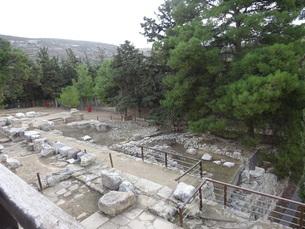 クレタ島 クノッソス宮殿 crete heraklionの写真素材 [FYI01262051]