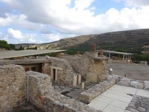 クレタ島 クノッソス宮殿 crete heraklionの写真素材 [FYI01262053]