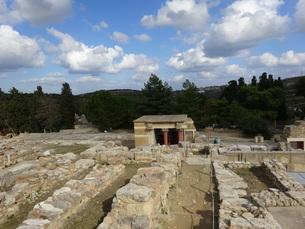クレタ島 クノッソス宮殿 crete heraklionの写真素材 [FYI01262057]