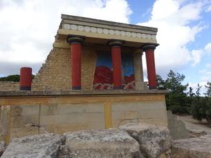 クレタ島 クノッソス宮殿 crete heraklionの写真素材 [FYI01262059]