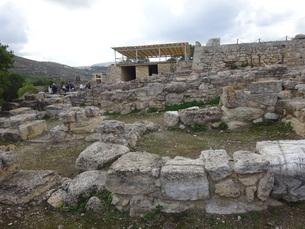 クレタ島 クノッソス宮殿 crete heraklionの写真素材 [FYI01262060]