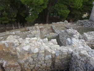 クレタ島 クノッソス宮殿 crete heraklionの写真素材 [FYI01262061]