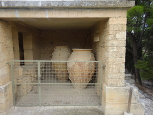 クレタ島 クノッソス宮殿 crete heraklionの写真素材 [FYI01262062]