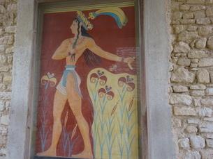 クレタ島 クノッソス宮殿 crete heraklionの写真素材 [FYI01262063]
