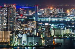 カレッタ汐留 夜景の写真素材 [FYI01262142]