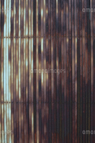 錆びた鉄壁の写真素材 [FYI01262220]