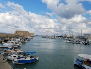 クレタ島 イラクリオンの海 crete heraklionの写真素材 [FYI01262477]