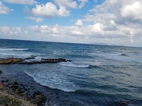クレタ島 イラクリオンの海 crete heraklionの写真素材 [FYI01262478]
