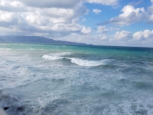 クレタ島 イラクリオンの海 crete heraklionの写真素材 [FYI01262483]