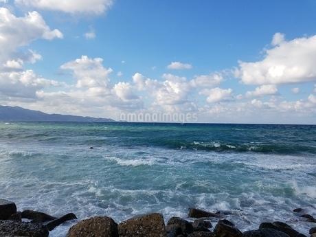 クレタ島 イラクリオンの海 crete heraklionの写真素材 [FYI01262484]