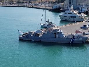 クレタ島 イラクリオンの海 crete heraklionの写真素材 [FYI01262487]
