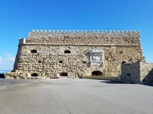 クレタ島 イラクリオンの要塞 crete heraklionの写真素材 [FYI01262488]