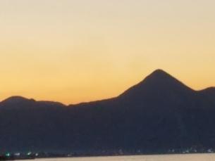クレタ島 イラクリオンの夕暮れ crete heraklionの写真素材 [FYI01262496]