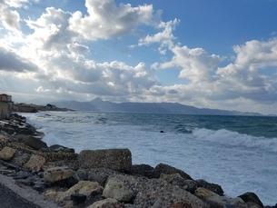 クレタ島 イラクリオンの海 crete heraklionの写真素材 [FYI01262506]