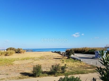 クレタ島 イラクリオンの海 crete heraklionの写真素材 [FYI01262507]