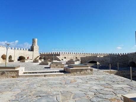 クレタ島 イラクリオンの要塞 crete heraklionの写真素材 [FYI01262516]