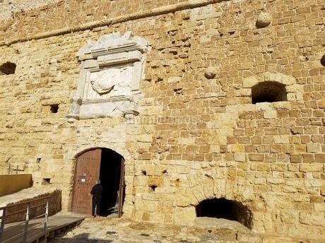 クレタ島 イラクリオンの要塞 crete heraklionの写真素材 [FYI01262517]
