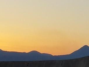 クレタ島 イラクリオンの夕暮れ crete heraklionの写真素材 [FYI01262518]