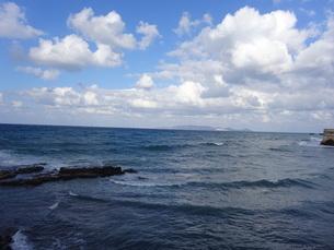 クレタ島 イラクリオンの海 crete heraklionの写真素材 [FYI01262519]