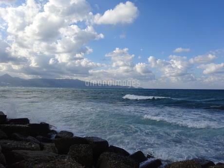 クレタ島 イラクリオンの海 crete heraklionの写真素材 [FYI01262526]