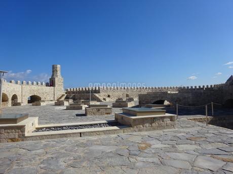 クレタ島 イラクリオンの要塞 crete heraklionの写真素材 [FYI01262536]