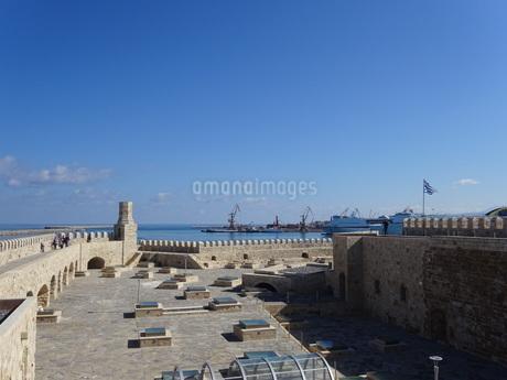 クレタ島 イラクリオンの要塞 crete heraklionの写真素材 [FYI01262537]