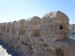 クレタ島 イラクリオンの要塞 crete heraklionの写真素材 [FYI01262538]