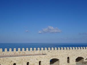 クレタ島 イラクリオンの風景 crete heraklionの写真素材 [FYI01262540]