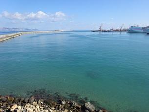 クレタ島 イラクリオンの海 crete heraklionの写真素材 [FYI01262563]