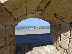 クレタ島 イラクリオンの要塞 crete heraklionの写真素材 [FYI01262775]