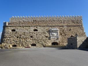 クレタ島 イラクリオンの要塞 crete heraklionの写真素材 [FYI01262776]