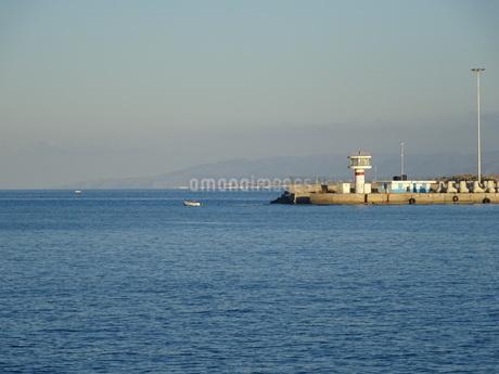 クレタ島 イラクリオンの海 crete heraklionの写真素材 [FYI01262777]