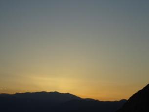 クレタ島 イラクリオンの夕暮れ crete heraklionの写真素材 [FYI01262814]