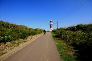 北海道積丹半島の灯台の風景の写真素材 [FYI01263312]