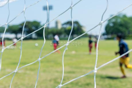 サッカー風景の写真素材 [FYI01263438]