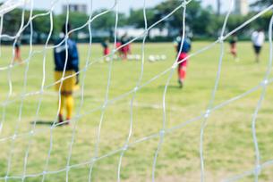 サッカー風景の写真素材 [FYI01263439]