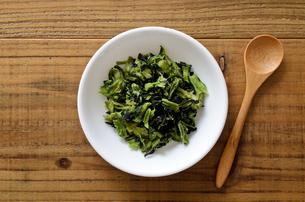 乾燥小松菜の写真素材 [FYI01263745]